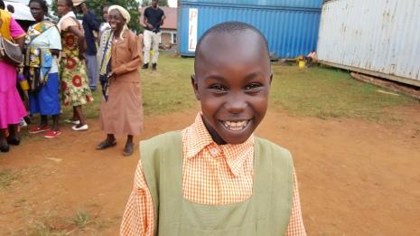 Smiling Girl The GRACE Project Kisii, Kenya