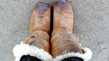 Uggs on the Beach
