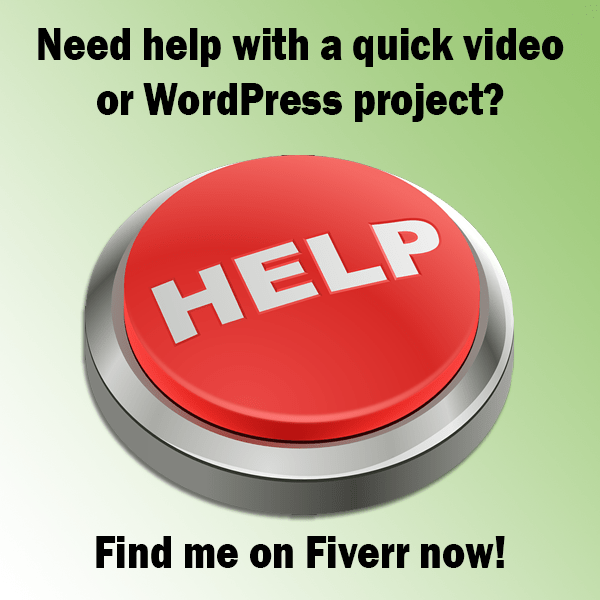 Find me on Fiverr
